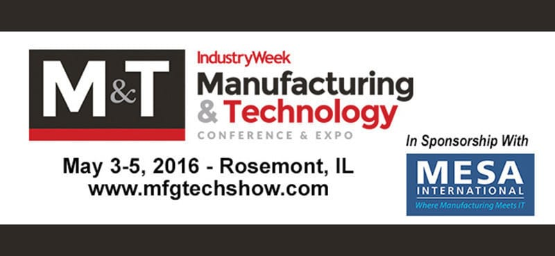 iBASEt Leads Smart Manufacturing Discussion at 2016 Manufacturing & Technology Conference